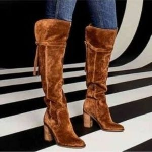 Franco Sarto Ellyn Over The Knee Boots, Size 6.5